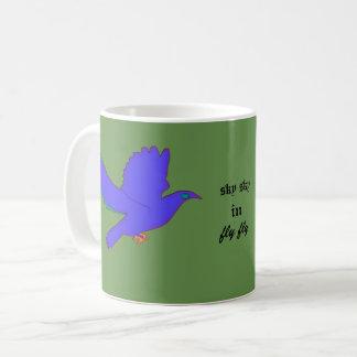 vlieg in hemel koffiemok