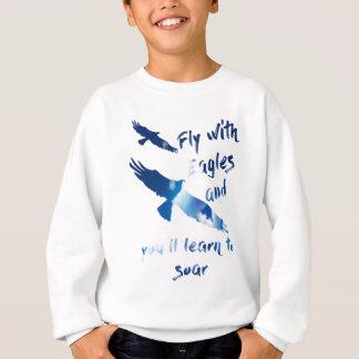 Vlieg met adelaars trui