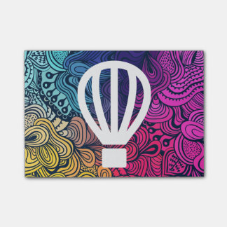 Vlieg Minimale Airballoons Post-it® Notes