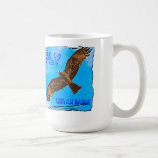 Vlieg zoals Eagle Koffiemok