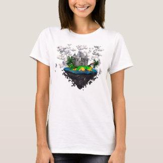Vliegend kasteeloverhemd t shirt