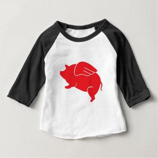 vliegend varken 🐷 baby t shirts