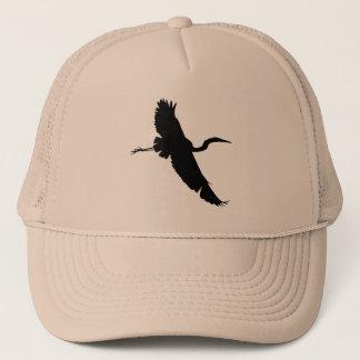 Vliegende Aigrette 1 het Pet van het Silhouet