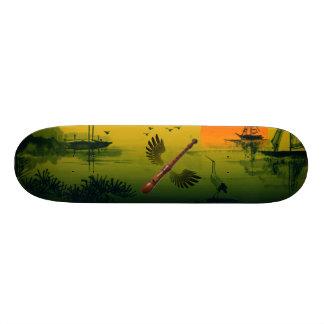 Vliegende Fluit 21,6 Cm Skateboard Deck