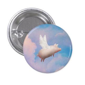 vliegende varkensknoop ronde button 3,2 cm