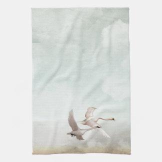 Vliegende Zwanen Theedoek