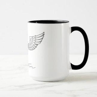Vliegenier door de Arabische Mok van de Koffie