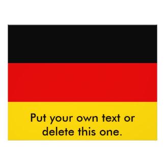 Vlieger met Vlag van Duitsland Persoonlijke Folder