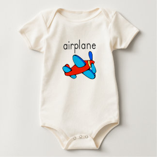 Vliegtuig Baby Shirt