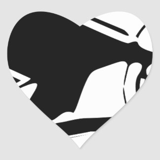 vliegtuig hart stickers