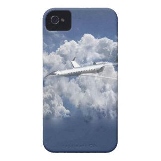 Vliegtuig in de dekking van wolkenIphone 4s iPhone 4 Hoesje