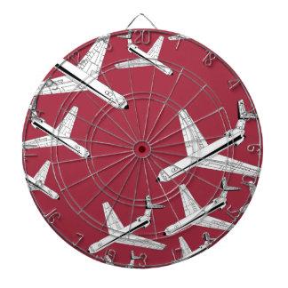 vliegtuigen dartboard dartbord