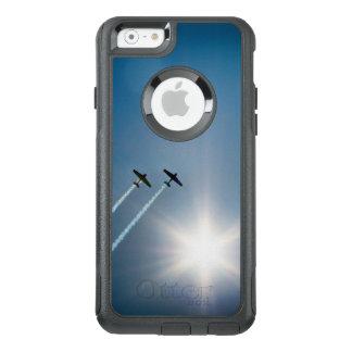Vliegtuigen die op Blauwe Hemel met Zon vliegen OtterBox iPhone 6/6s Hoesje