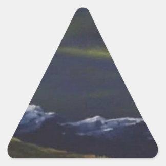 Vliegtuigen Driehoekige Stickers