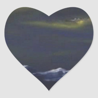 Vliegtuigen Hartvormige Stickers