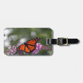 Vlinder 9740 van de monarch kofferlabel