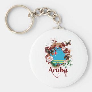 Vlinder Aruba Sleutelhanger