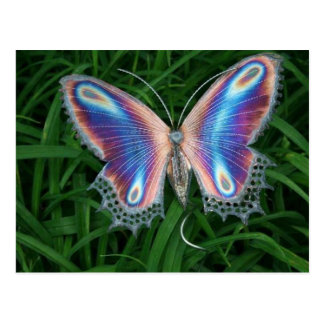 vlinder briefkaart