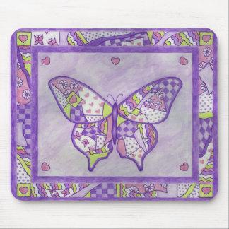 vlinder dekbed muismat