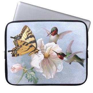 Vlinder en Kolibries Computer Sleeve