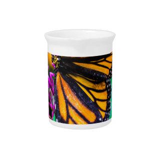Vlinder in Natuur Bier Pitcher