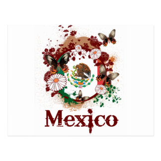 Vlinder Mexico Briefkaart