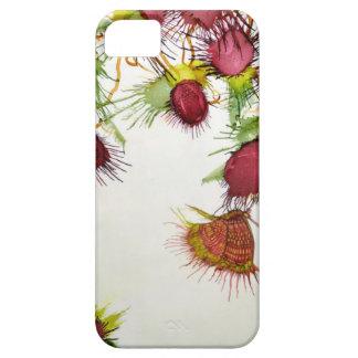 Vlinder op Rode Bessen Barely There iPhone 5 Hoesje