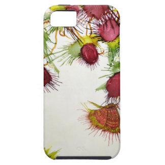 Vlinder op Rode Bessen Tough iPhone 5 Hoesje