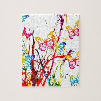 vlinder plons puzzel