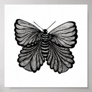 Vlinder Poster