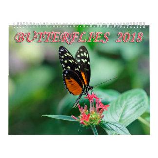 Vlinders 2018 kalender
