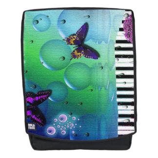 Vlinders, Bellen en de Sleutels van de Piano Rugtassen