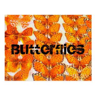 Vlinders Briefkaart