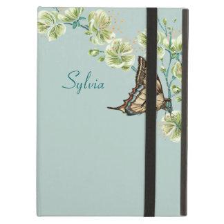 Vlinders en de Bloesems van de Kers iPad Air Hoesje