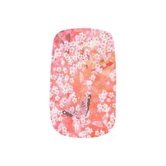 Vlinders en het Art. van de sakuraSpijker Minx Nail Art