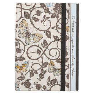 Vlinders en Rozen op Room iPad Air Hoesje