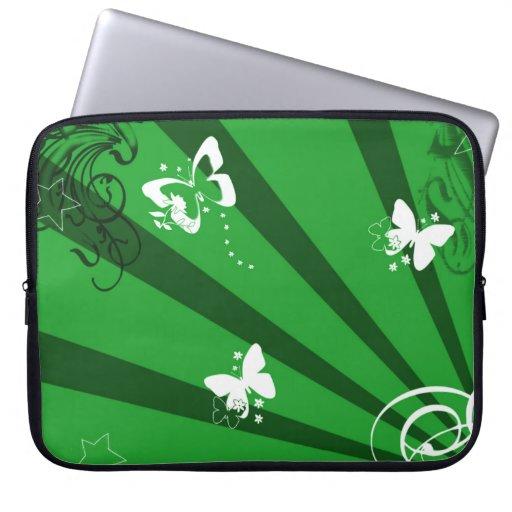 Vlinders en Sterren 2 Laptop Sleeve Hoezen
