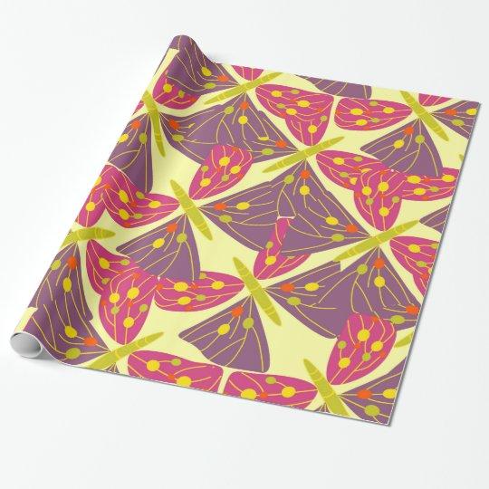 Vlinders Inpakpapier