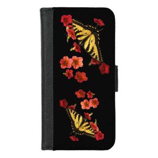 Vlinders op Rode iPhone van Bloemen 8/7 Hoesje van