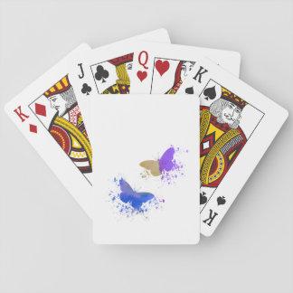 Vlinders Pokerkaarten