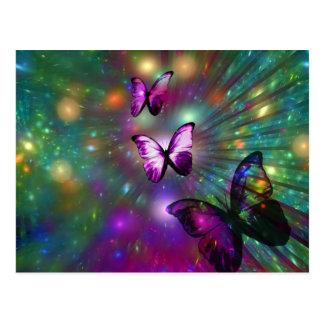 Vlinders voor altijd briefkaart