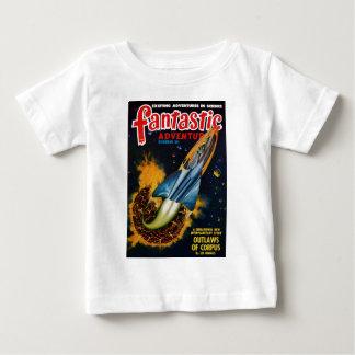 Vlucht van de Exploderende Planeet Baby T Shirts