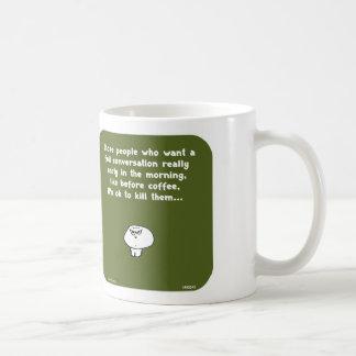 VM8645 vimrod vroeg de koffie van het Koffiemok