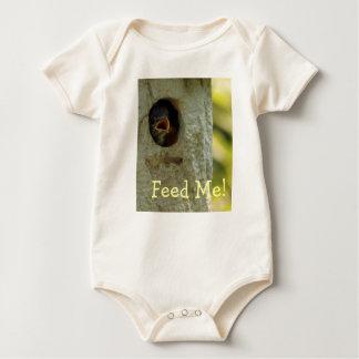 Voed me de Klimplant van het Baby Baby Shirt
