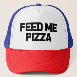 Voed me Pizza grappig foodiepet Trucker Pet