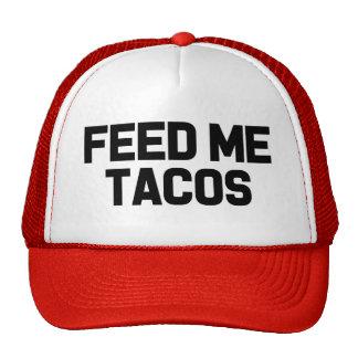 Voed me Taco's het grappige pet van het