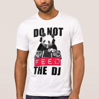 VOED NIET DJ T SHIRT