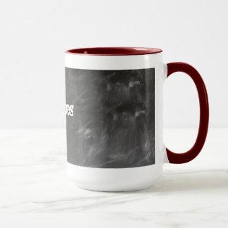 Voeg Bericht aan de Mok van de Koffie van het Bord