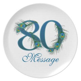 Voeg het bord van de Verjaardag van de naamdouane