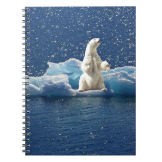 Voeg SLOGAN toe om Polair Beer het NoordpoolIjs Notitieboek